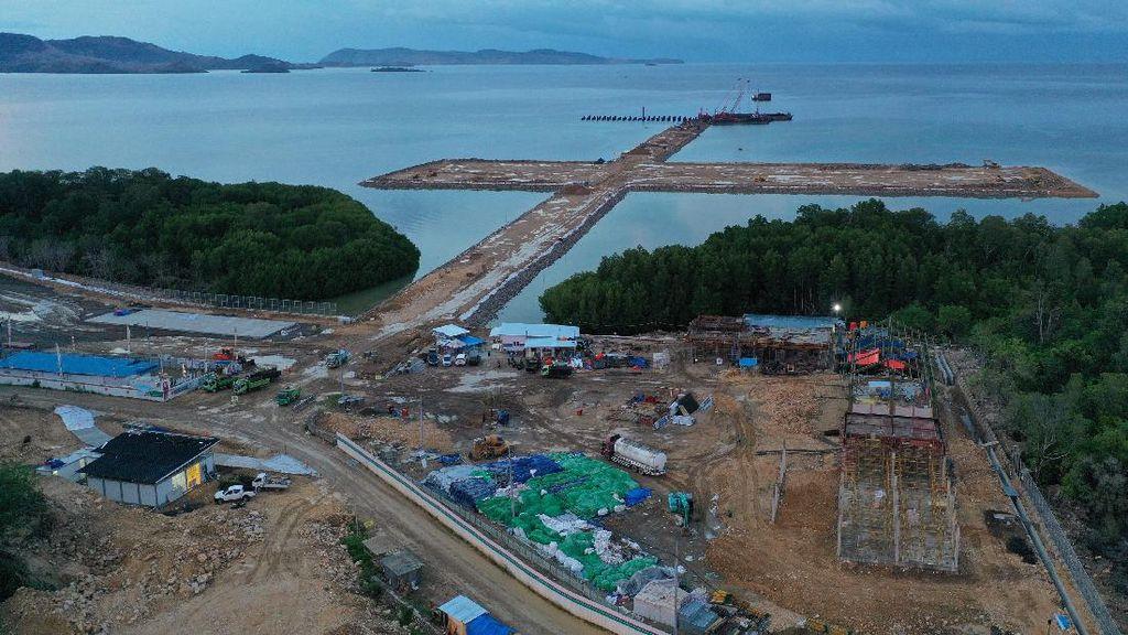 Pembangunan Pelabuhan Multipurpose Labuan Bajo Capai 48,67%