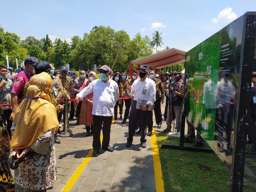 Renovasi Borobudur cs Rampung Medio 2021