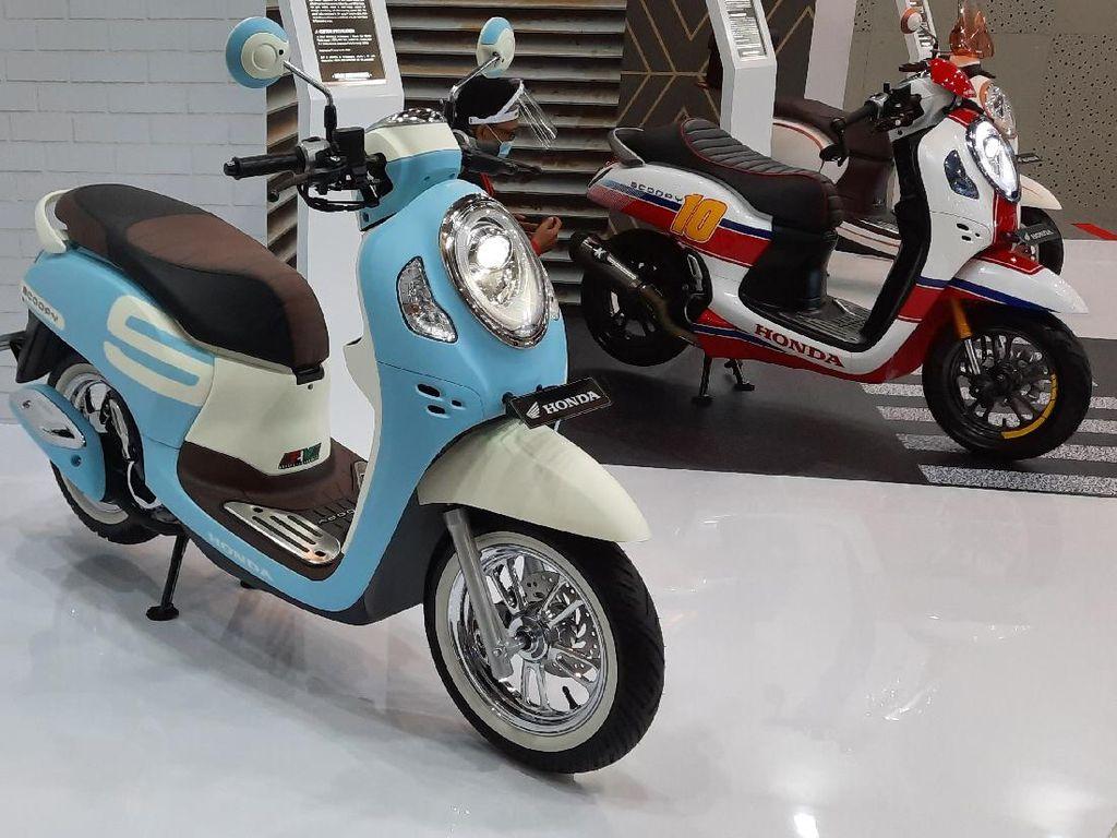 3 Inspirasi Modifikasi Honda Scoopy Terbaru