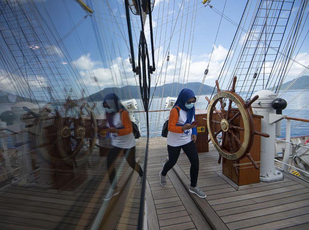 KRI Bima Suci Open Ship di Natuna