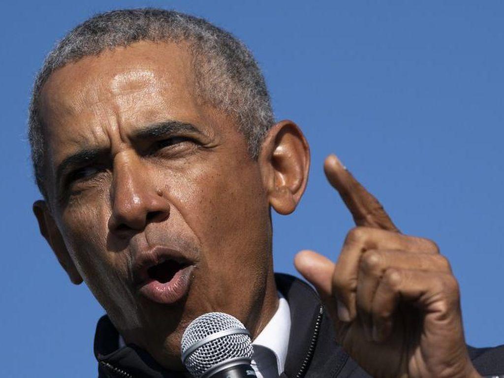 Barack Obama Lakukan Hal Ini saat Buku Memoarnya Selesai Ditulis
