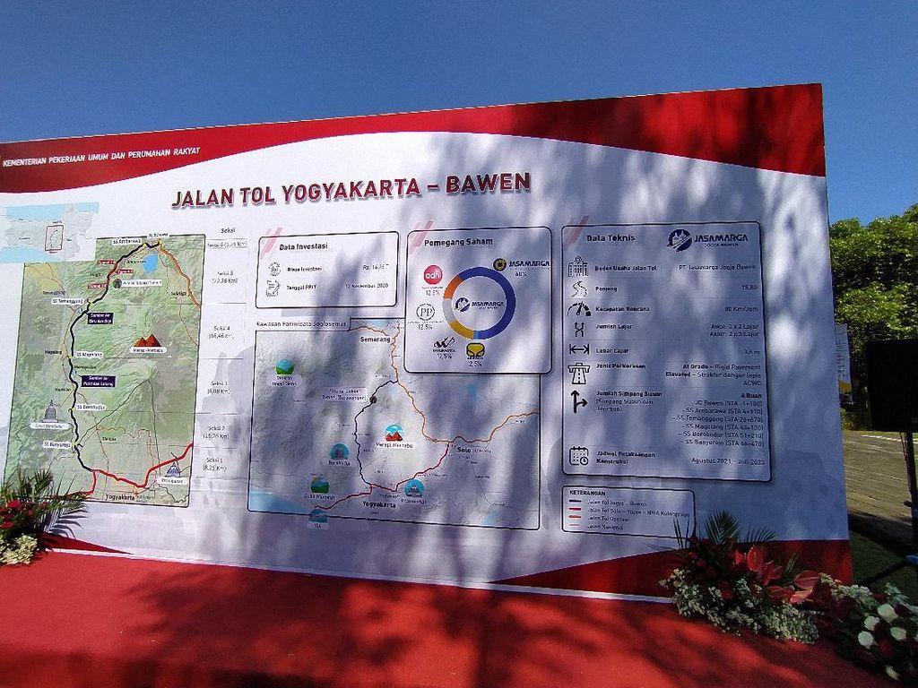 Mayoritas di Wilayah Jateng, Tol Yogya-Bawen Lewati 62 Desa
