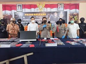 Polresta Mataram Ringkus Komplotan Pembobol Rumah & Toko