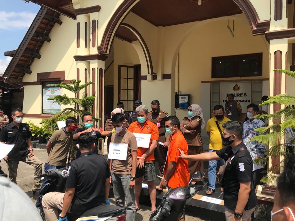 Rekonstruksi TNI Dikeroyok Klub Harley di Sumbar, 24 Adegan Diperagakan