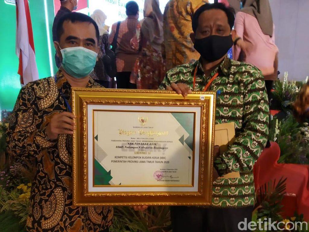 RSUD Padangan Sabet Juara Favorit ke-3 Kompetisi KBK Jatim 2020.