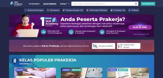 Perdalam skill mu dengan online course skill academy/skillacademy.com