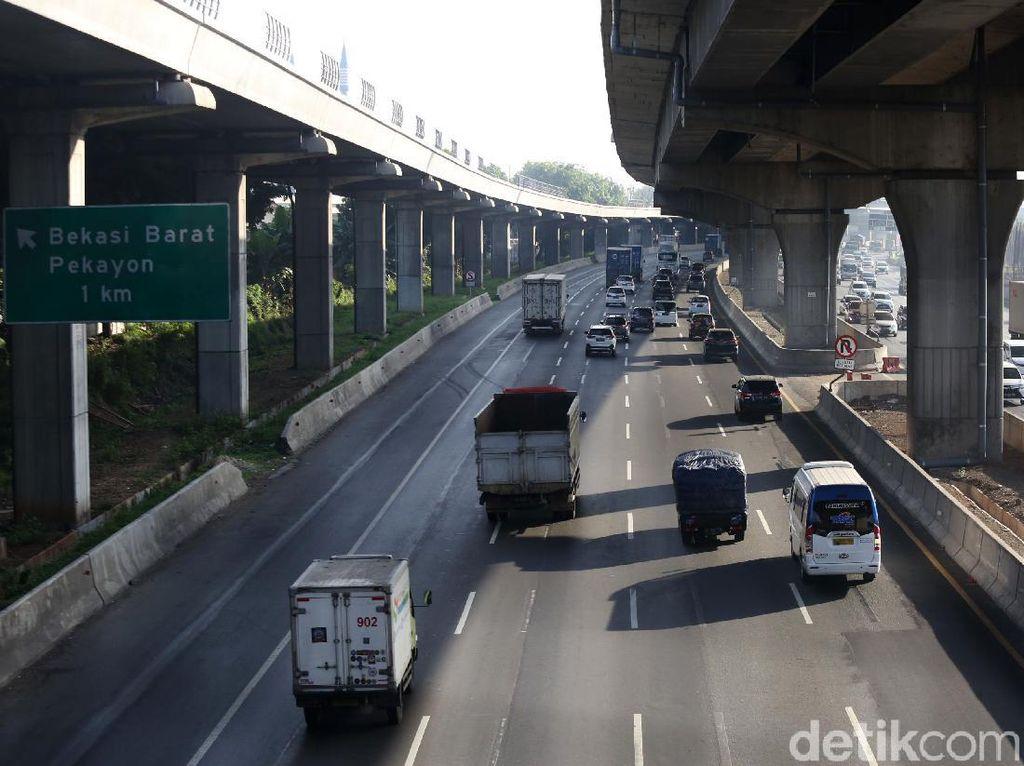 Sebagian Tol Jakarta-Cikampek Ditutup Sampai Jumat, Ini Lokasinya