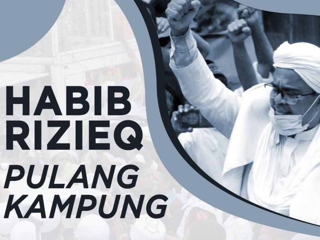 Suara-suara Rindu Pendukung Habib Rizieq Syihab