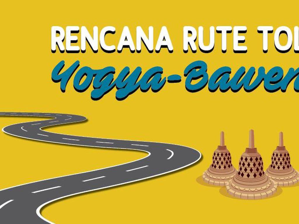 Rencana Rute Tol Yogya-Bawen