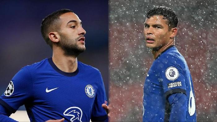 Hakim Ziyech dan Thiago Silva menjadi pembelian Chelsea yang tidak sia-sia. Keberadaan mereka membuat lini serang The Blues jadi berbahaya dan kokoh di lini belakang.