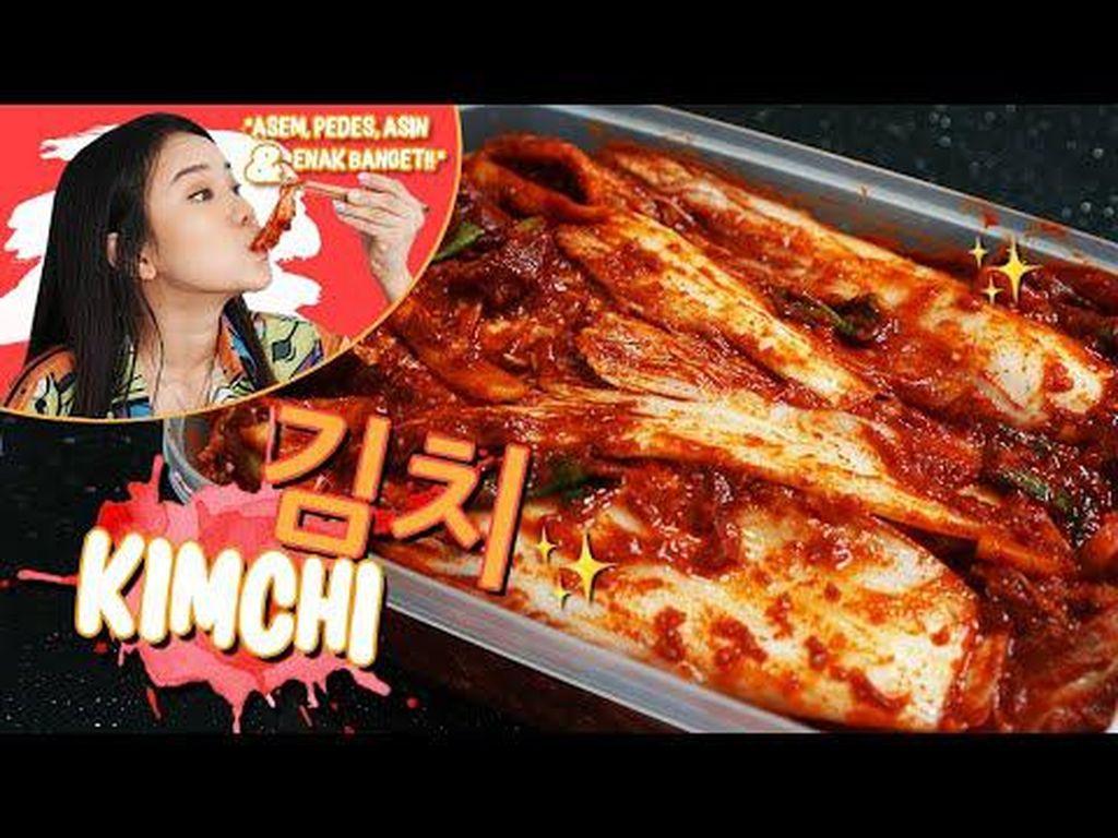 Cara Membuat Kimchi Sendiri di Rumah ala YouTuber Jessica Jane