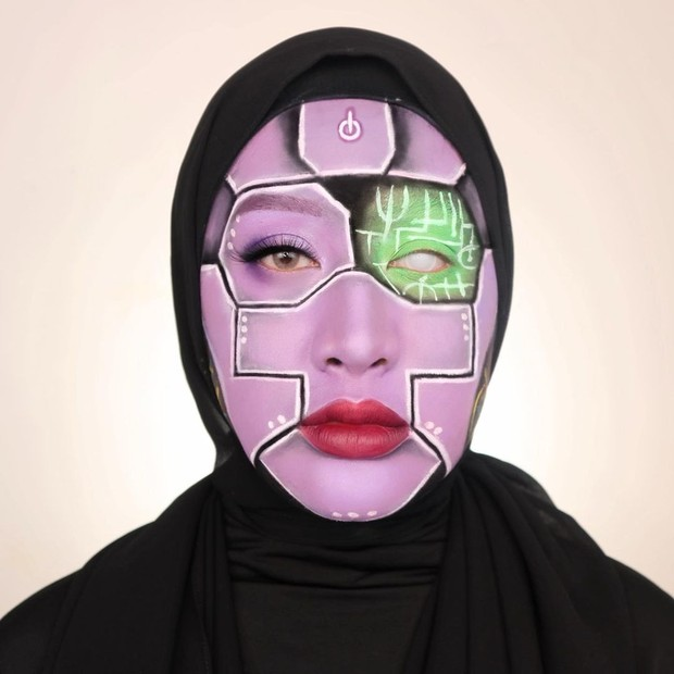 8 Makeup Karakter dari Yulia Firstian