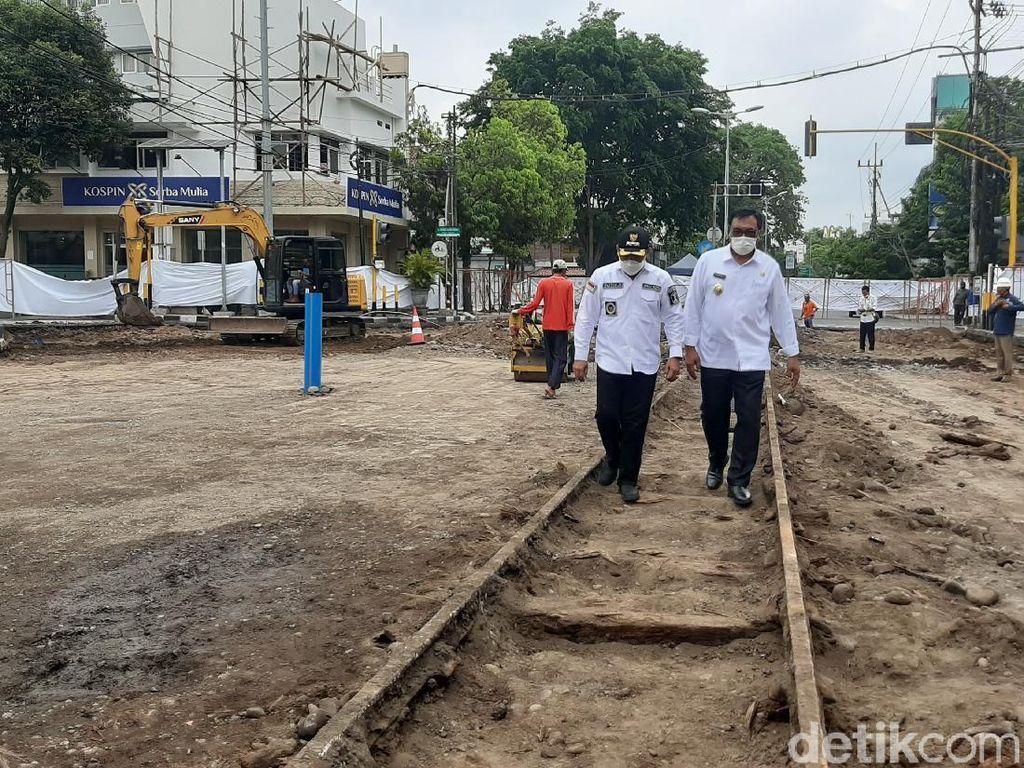 Upaya Pemkot Malang Selamatkan Jalur Trem Kolonial di Kayutangan