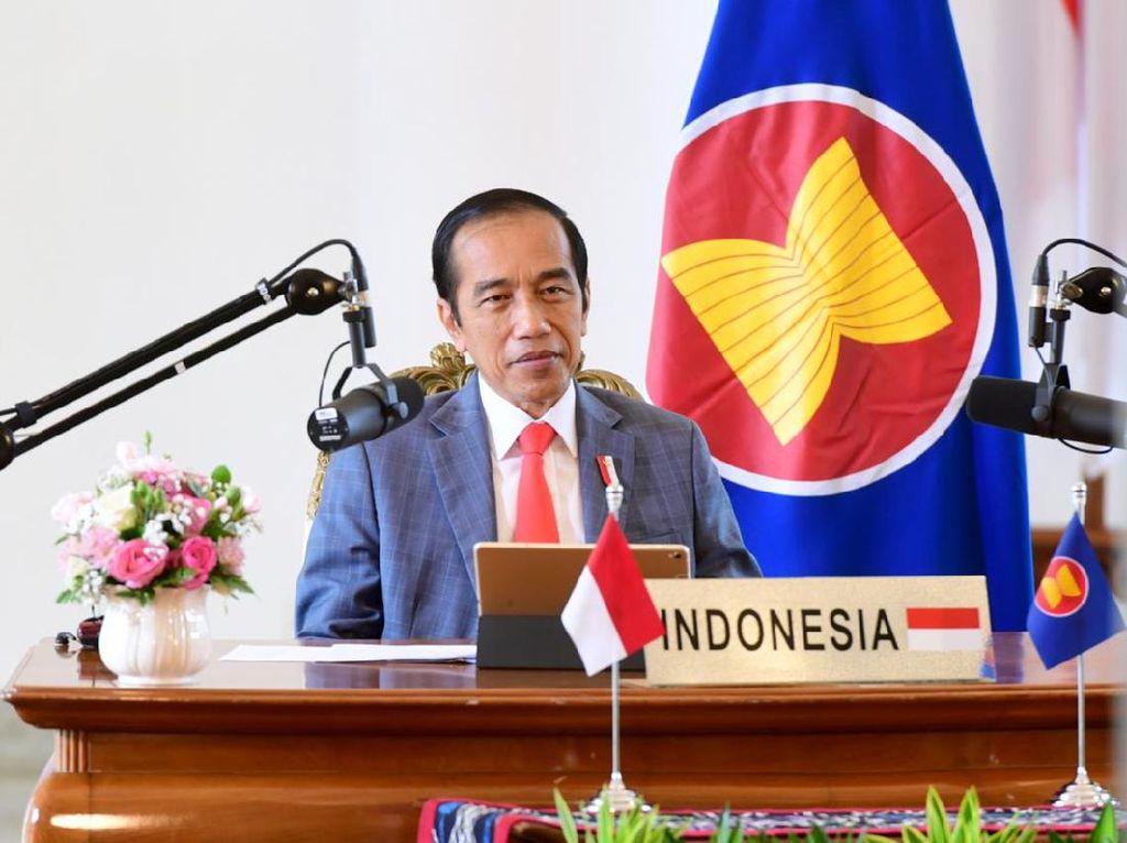 Jokowi Hadiri KTT ASEAN-PBB dan KTT RCEP secara Virtual dari Istana Bogor