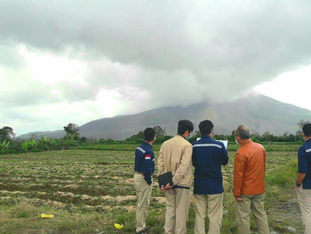 Hindari Ada Korban, Badan Geologi ESDM Monitoring Aktivitas Sinabung