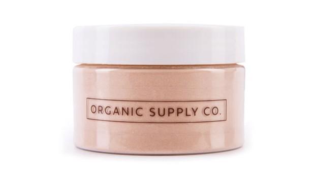 Organic Supply Co. French Pink Clay adalah masker wajah organik yang efektif untuk mengangkat sel kulit mati