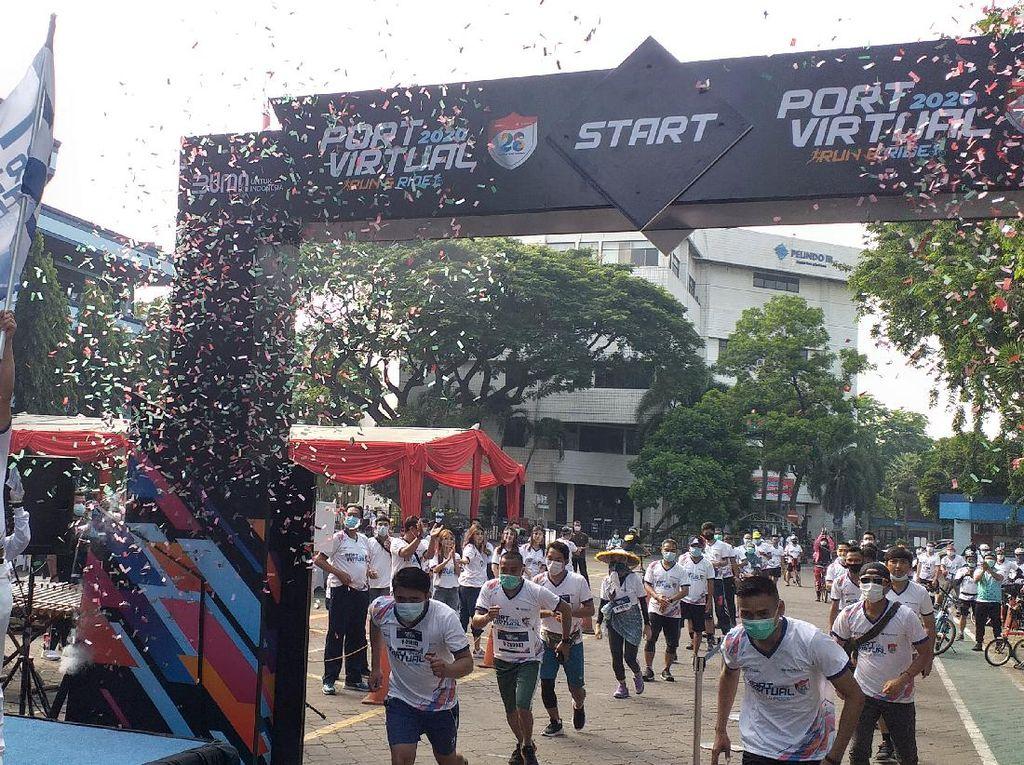 Port Virtual Run & Ride, Solusi Pelindo III Tetap Sehat Saat Pandemi