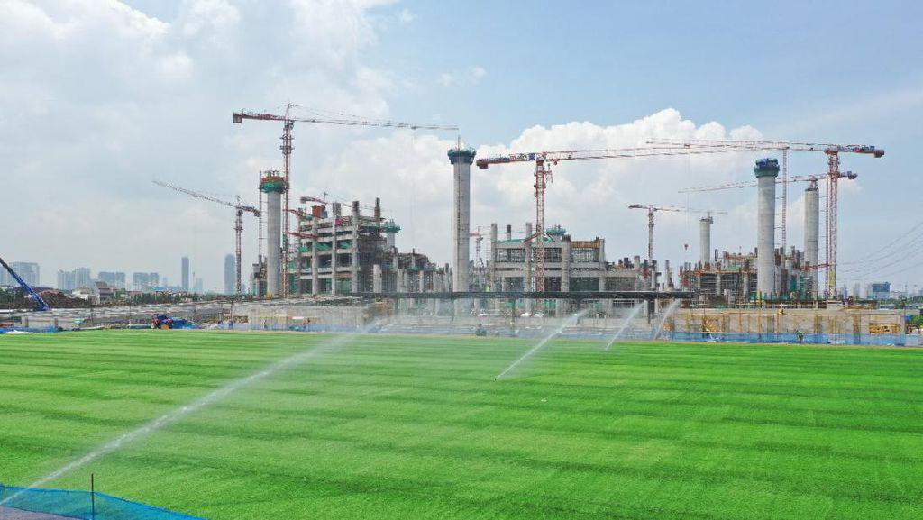 Wow! Penampakan Proyek Old Trafford Jakarta yang Lagi Dikebut