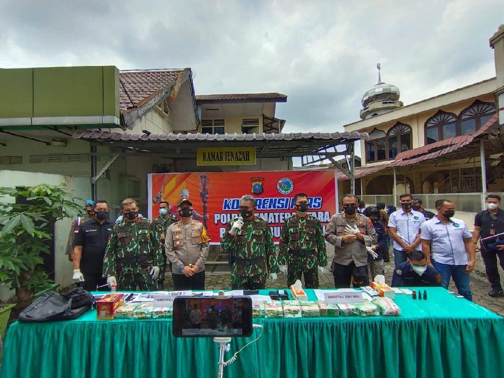 2 Kurir di Sumut Ditembak Mati karena Lawan Polisi, 15 Kg Sabu Disita