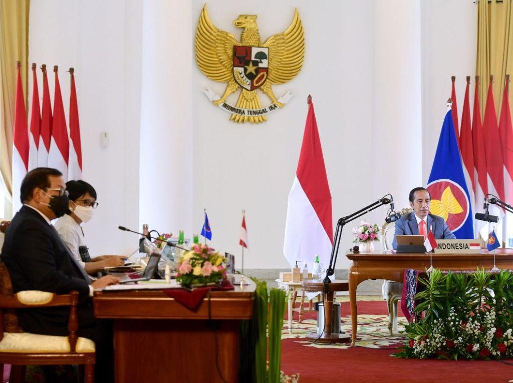 Jokowi Dorong Integrasi Ekonomi-Stabilitas Keamanan di KTT ASEAN-Australia