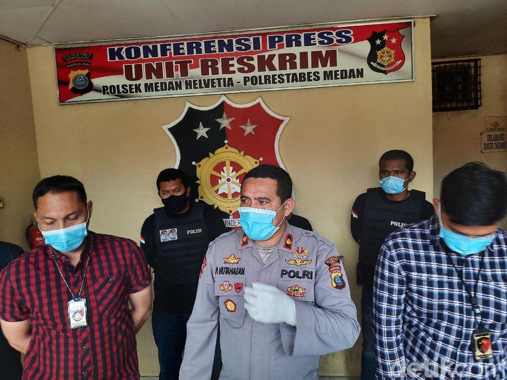 Polisi Tetapkan 1 Tersangka Pembakar Pria Hidup-hidup di Medan