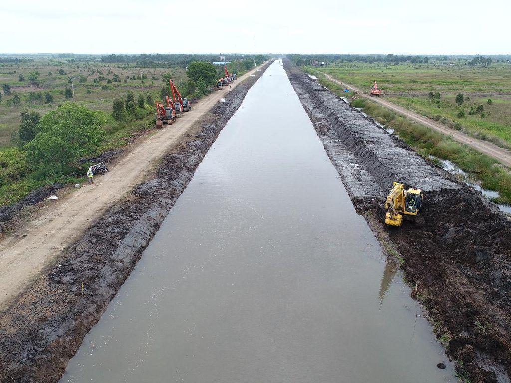 Bagaimana Progres Lumbung Pangan Kalimantan?