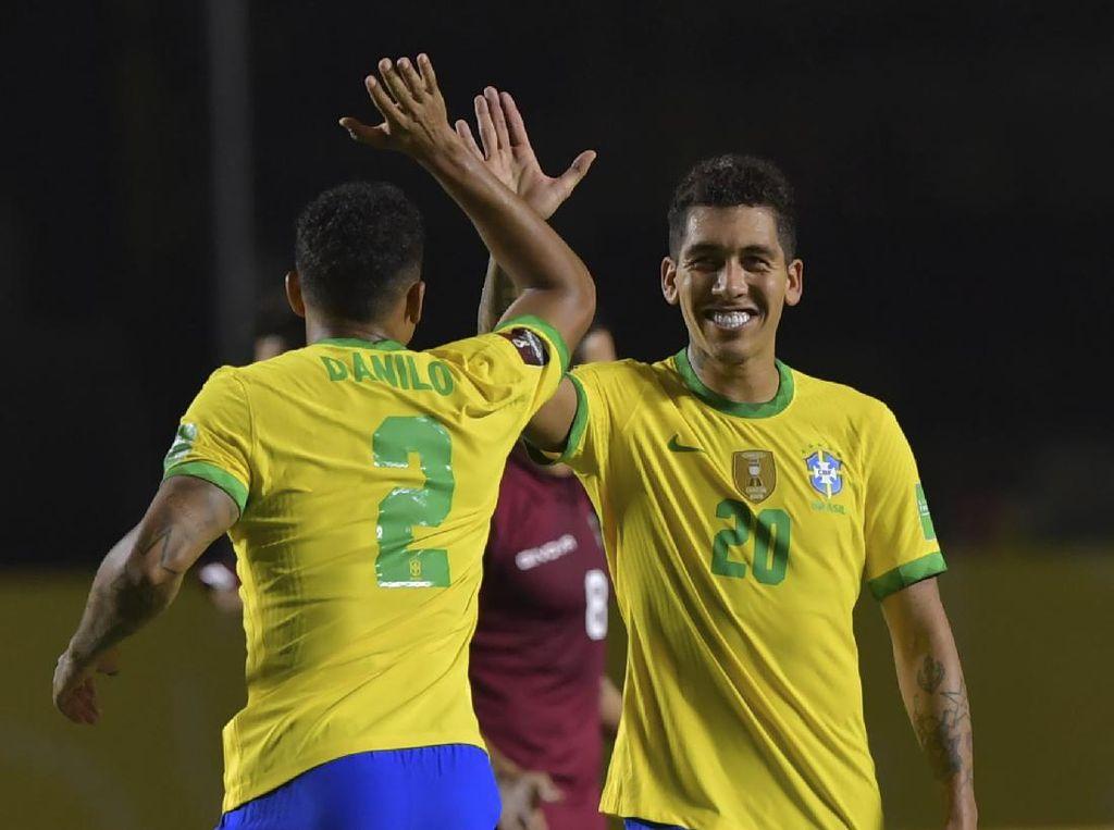 Hasil Kualifikasi Piala Dunia 2022: Brasil Tundukkan Venezuela 1-0