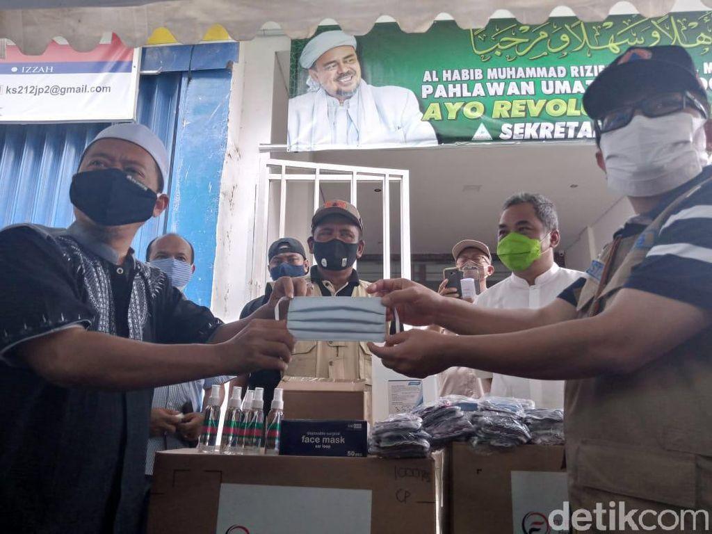 Ini Alasan Satgas Kirim Masker untuk Acara Pernikahan Putri Habib Rizieq