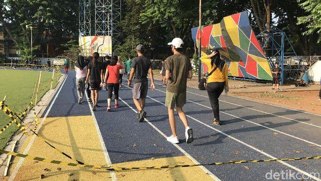 Kata Warga Soal Vandalisme Alun-alun 'Hits' Kota Tangerang