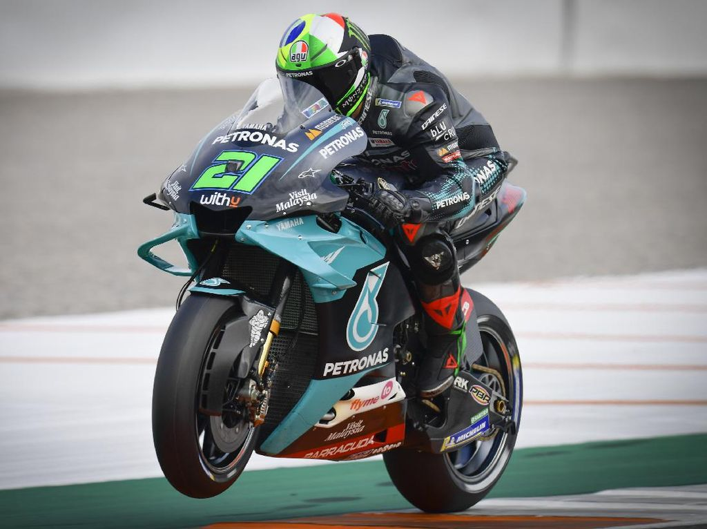 Tonton Lagi Duel Sengit Franco Morbidelli Vs Jack Miller di MotoGP Valencia