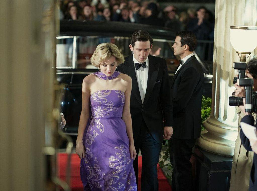 Reaksi Pangeran William soal Penggambaran Putri Diana di The Crown