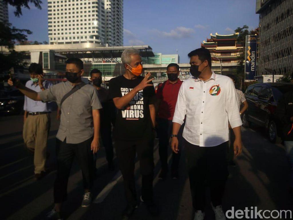 Kampanyekan Bobby di Medan, Ganjar Dinilai Cek Ombak Menuju Pilpres 2024