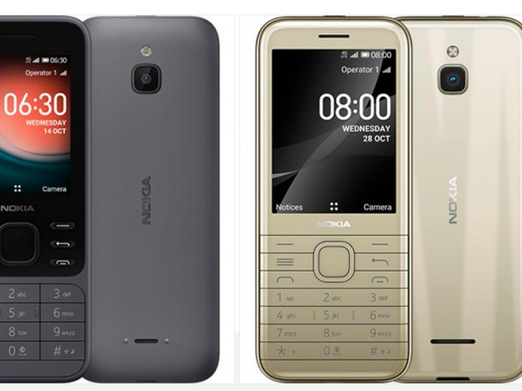 Nokia 6300 dan Nokia 8000 Lahir Kembali, Ada WhatsApp dan 4G