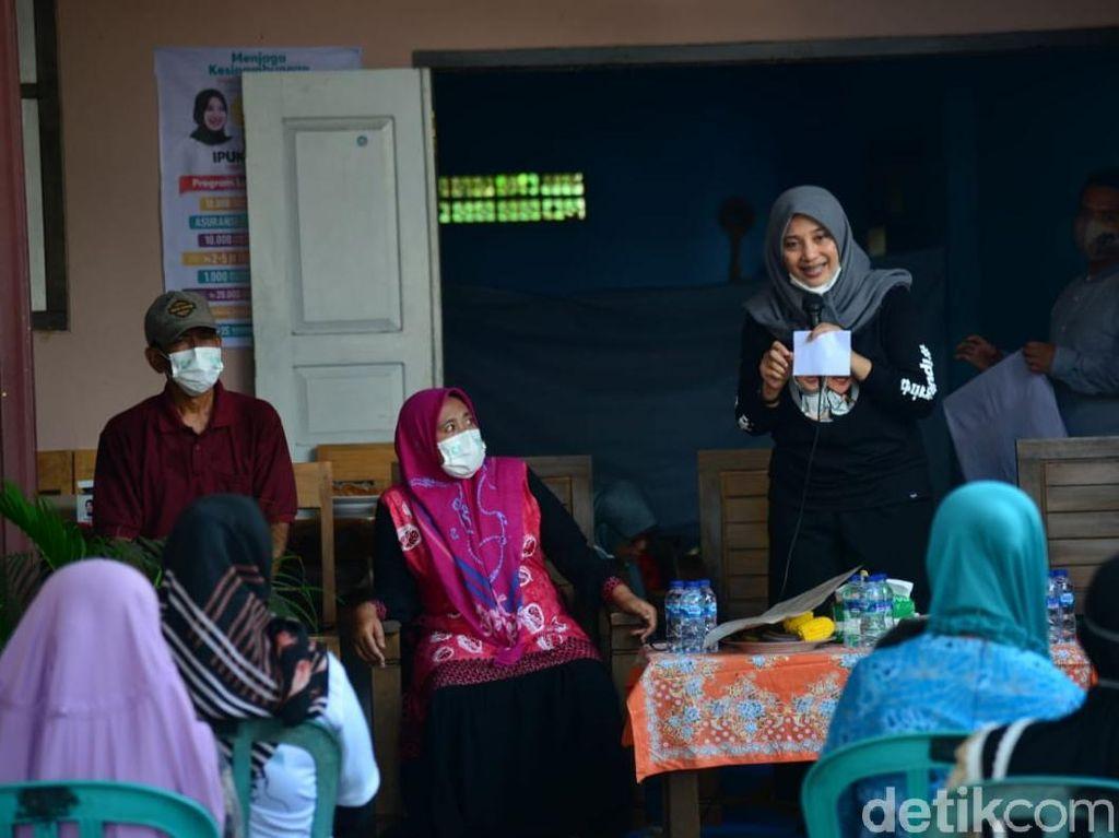 Cabup Ini Ajak Warga Perkampungan Banyuwangi Tetap Jaga Prokes