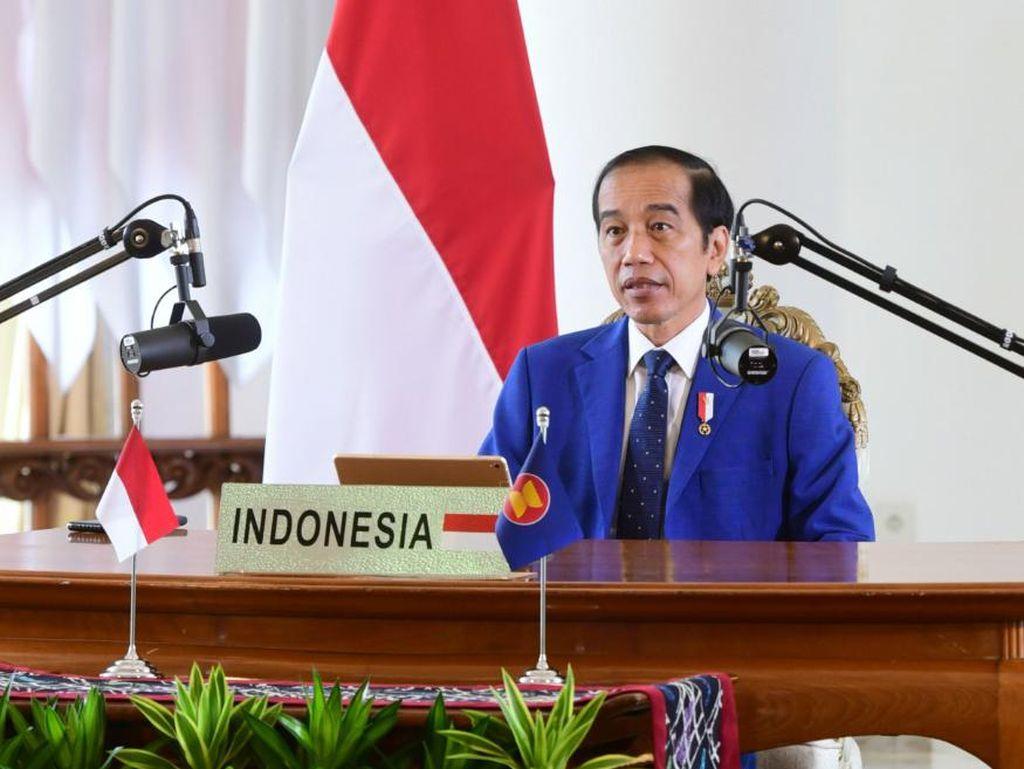 Jokowi di KTT ASEAN: PBB Harus Berperan Penuhi Akses Obat-obatan dan Vaksin