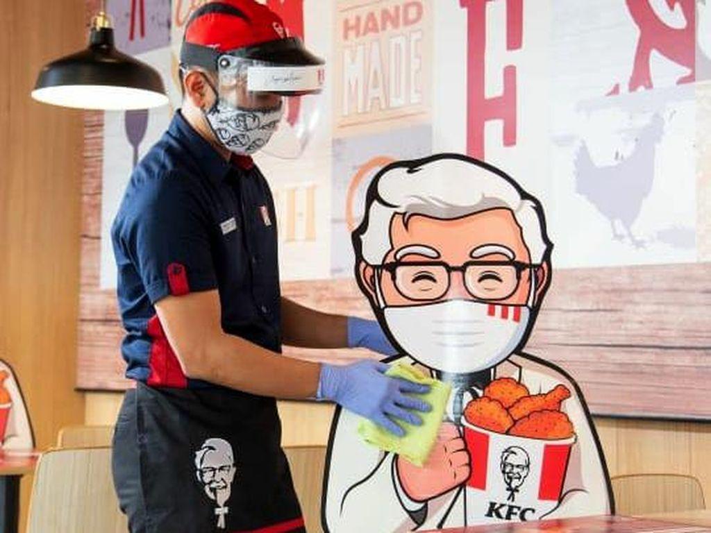33 Gerai KFC di Bandara dan Stasiun Tutup Sementara