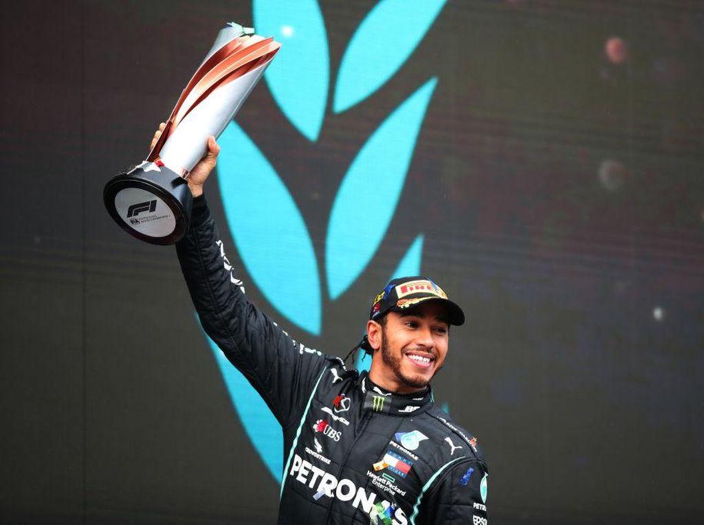 Hamilton Juara Dunia F1 2020, Samai Rekor Schumacher