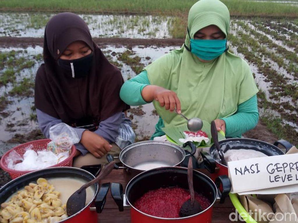 Menikmati Asyiknya Pasar Tiban Dalling di Tengah Pandemi