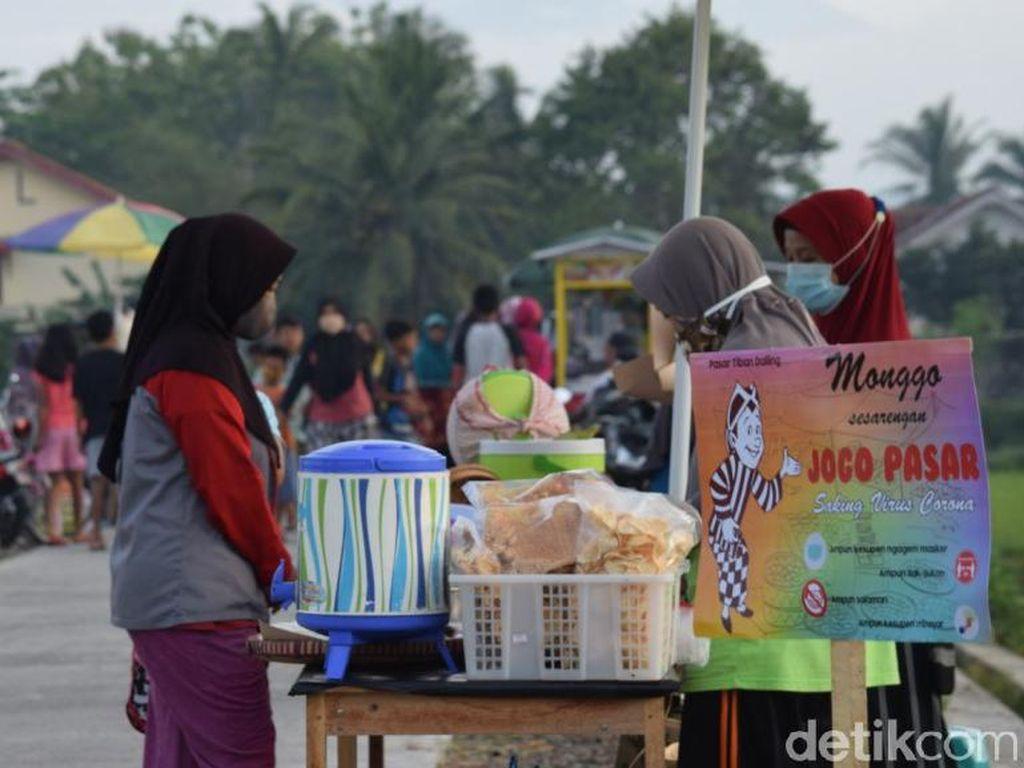 Belanja dan Kulineran Asyik di Pasar Tiban Dalling Purworejo