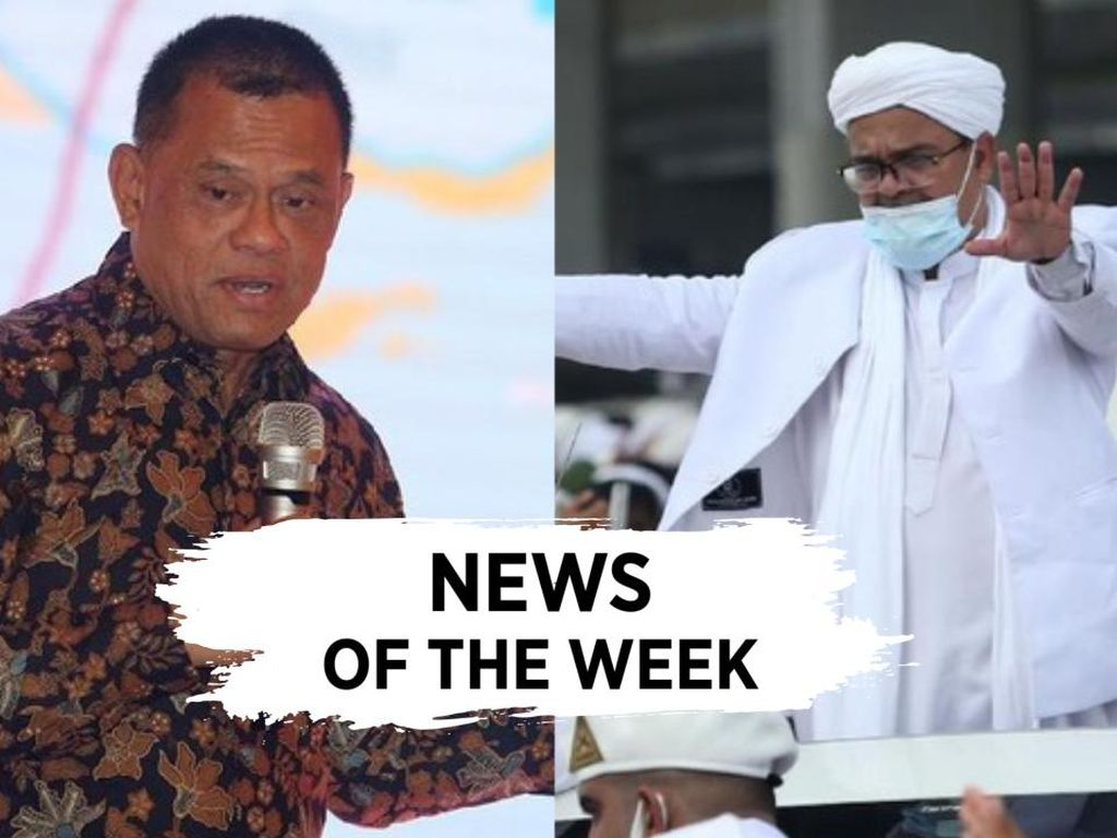 News Of The Week: Habib Rizieq Pulang, Gatot Absen Terima Penghargaan