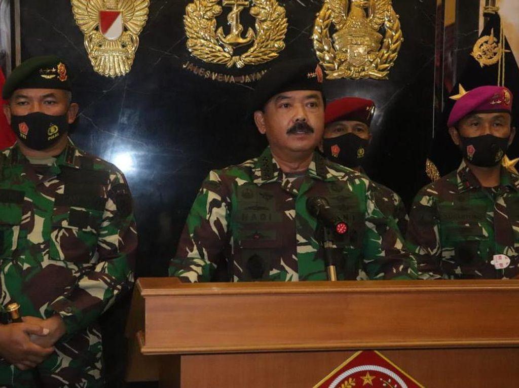 Panglima TNI Kerahkan KRI-Pesawat Angkut Bantuan Korban Banjir NTT dan NTB