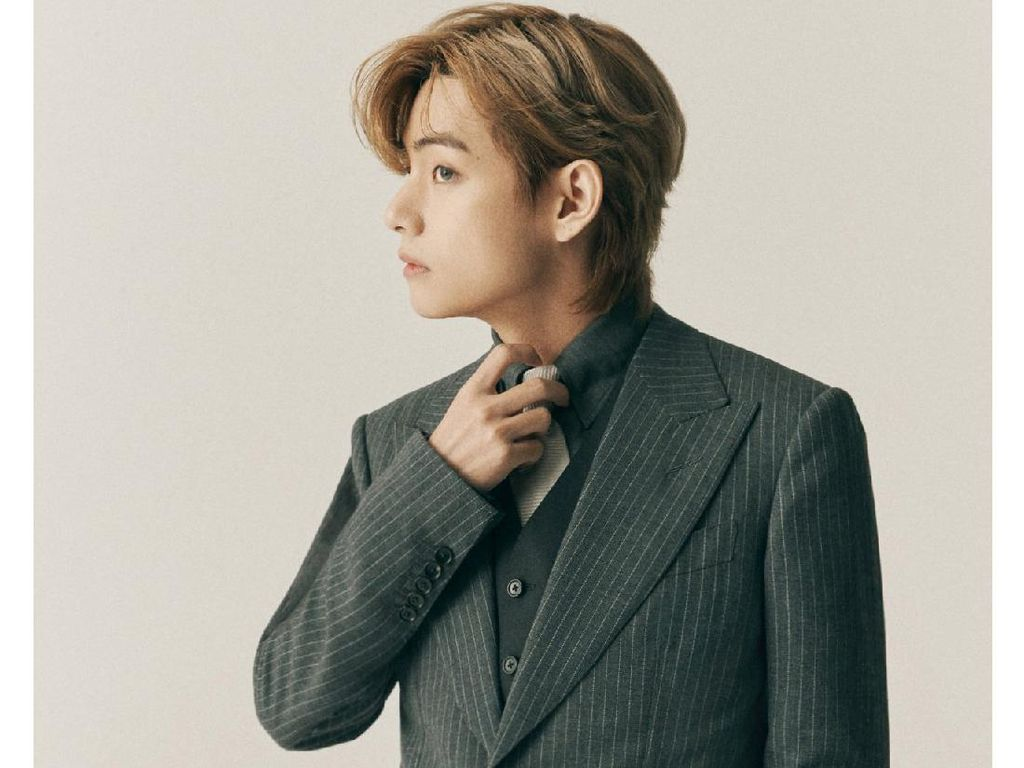 V BTS Ulang Tahun, Fans Beri Ucapan Selamat Lewat Iklan di Majalah TIME