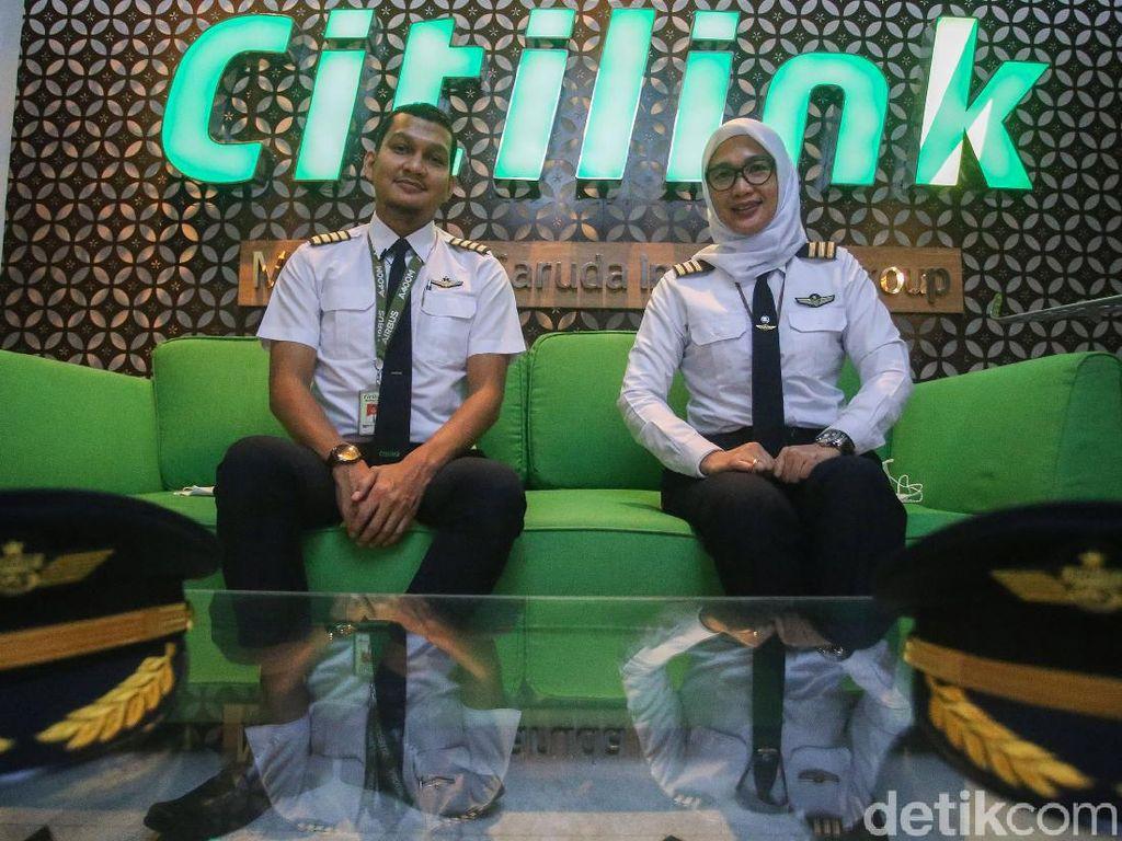 Pilot dan Awak Kabin Citilink Selamat dari PHK Saat Pandemi