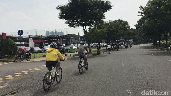 Tempat Kolonel TNI Dibegal Termasuk Jalur Gowes Hits di Bintaro