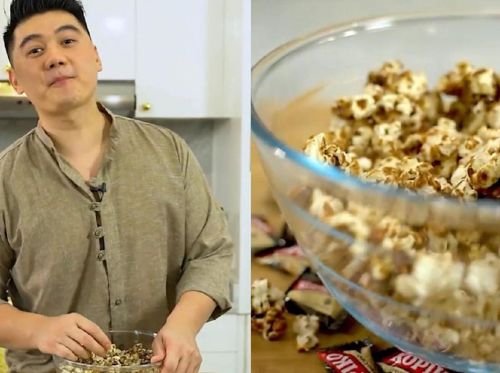 Viral Popcorn Chef Arnold K-POP, Kini Muncul Popcorn Rasa Permen Unik