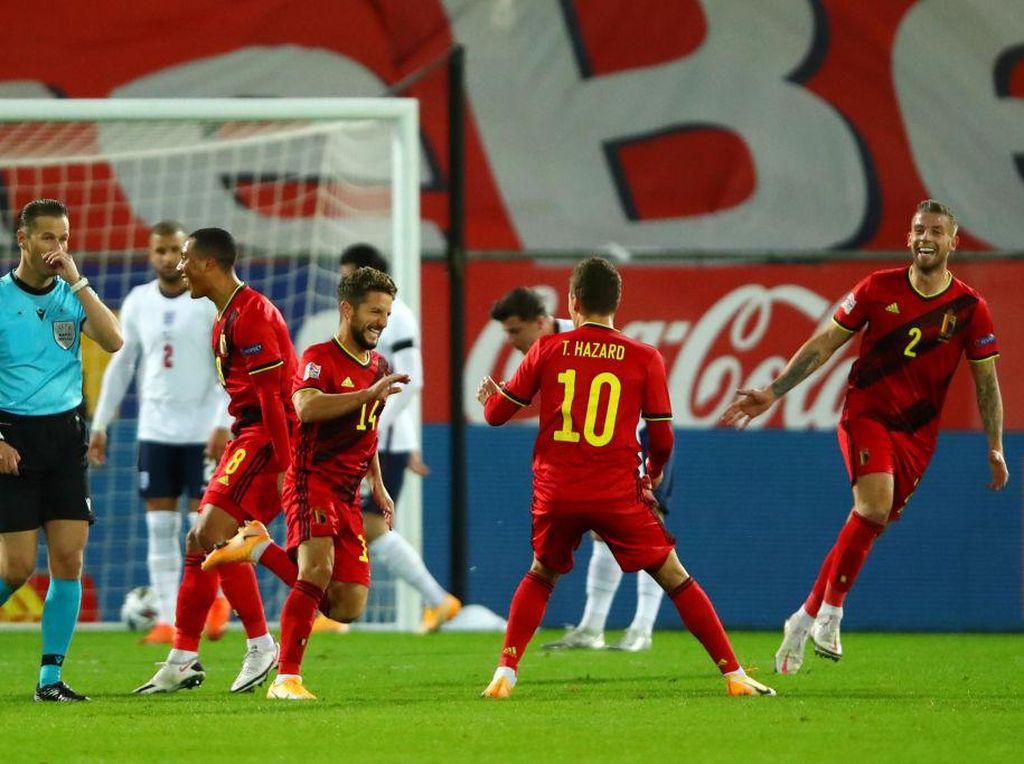 Video Belgia Sukses Bungkam Inggris 2 Gol Tanpa Balas