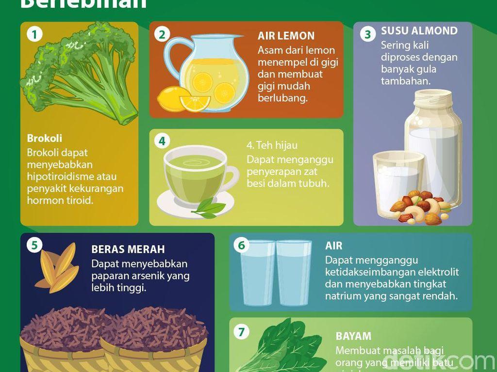 7 Makanan Sehat yang Kalau Berlebihan Malah Jadi Penyakit