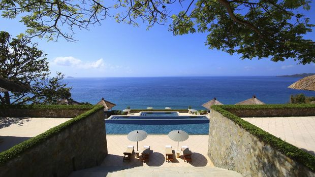 Amankila resort di Manggis, Bali