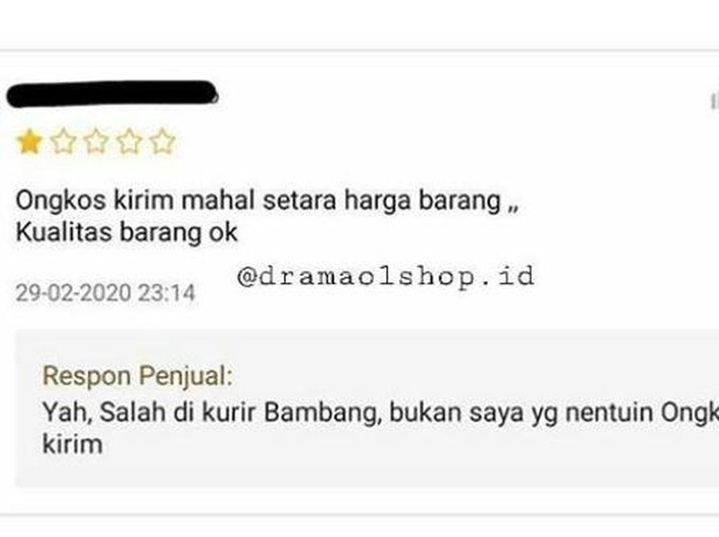 8 Balasan Nyeleneh Penjual Olshop Tanggapi Komplain Pembeli, Ngena Banget!