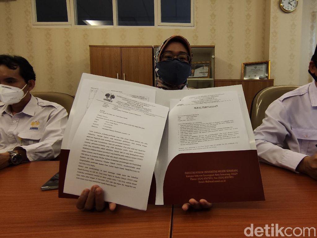 Cerita Mahasiswa Pelapor Rektor Unnes ke KPK Dituduh Terkait OPM